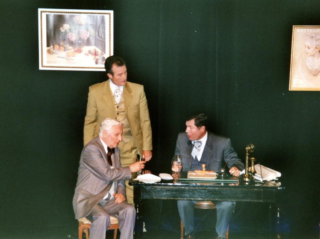 M. FLIZET (assis), P. MAZIERE & D. MARTY